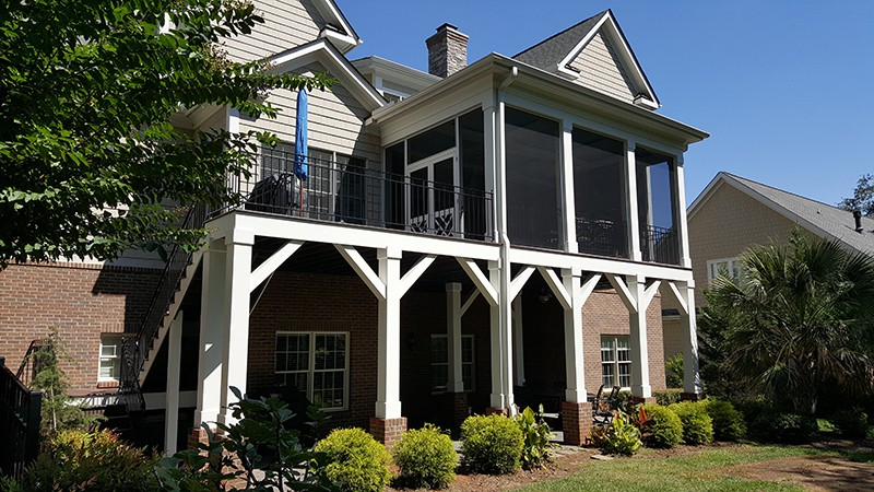 Charlotte, NC, Denver, NC, Lake Norman Screened Porch Builder