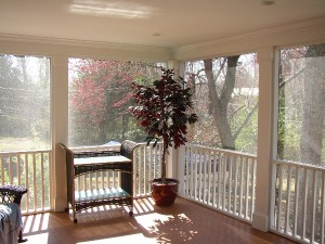 screened porches in charlotte nc