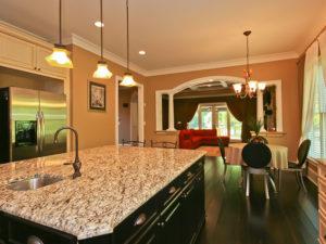 Custom Kitchen in Lake Norman