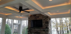 Fort Mill Screen Porch - Ceiling