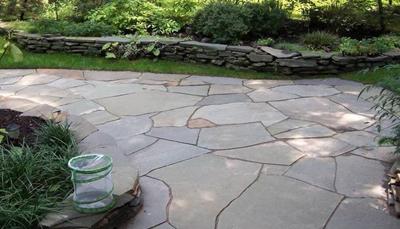 Flagstone Flooring Irregular Terrace
