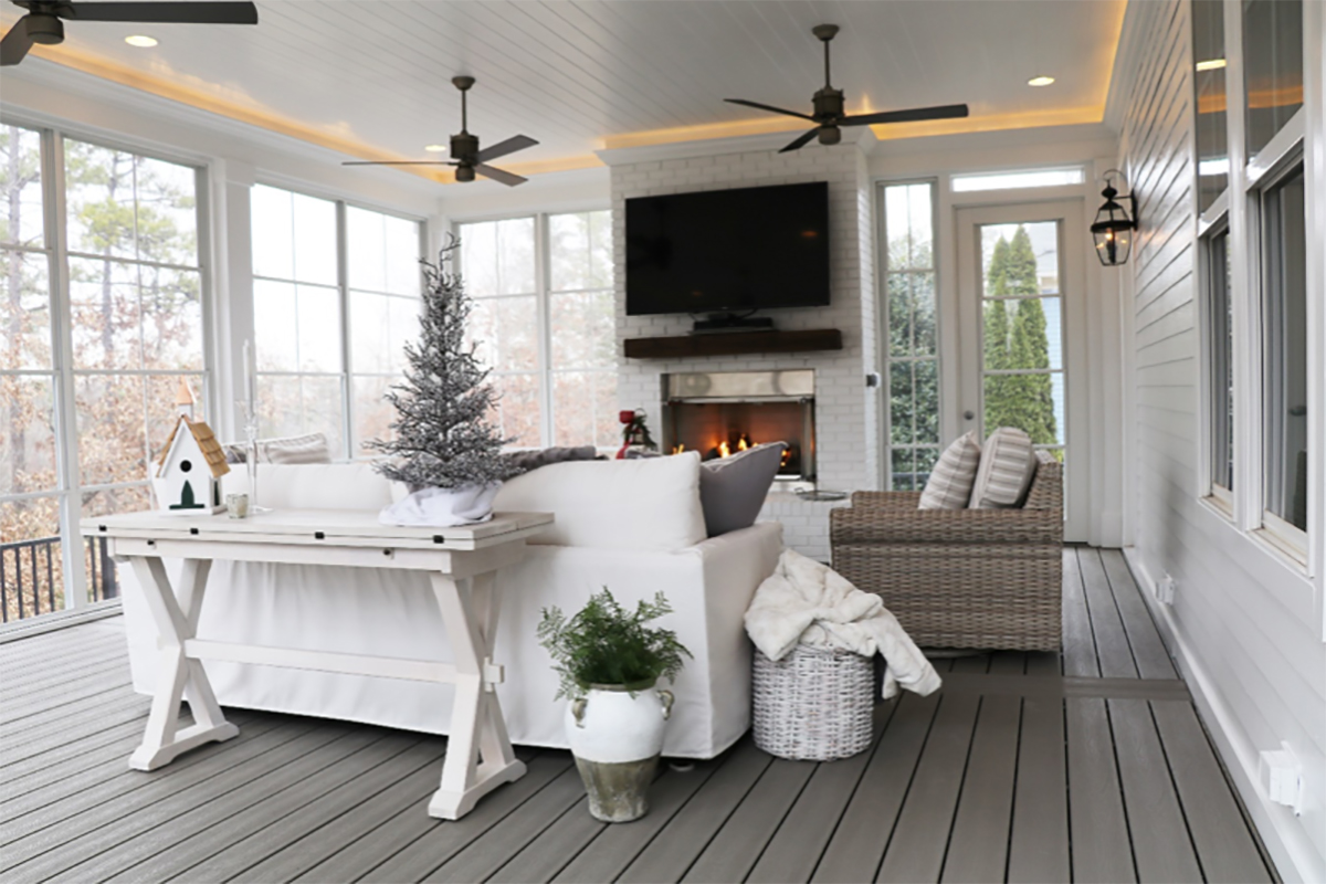Custom Screened Porches By Professional Builder In Charlotte Nc And