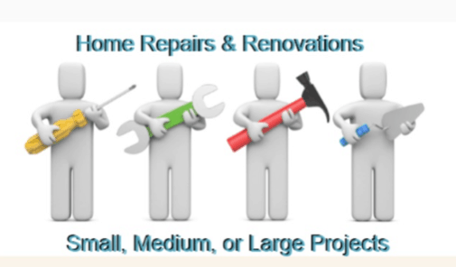 Home Repairs and Renocations from Small Jobs, Medium Jobs to the Big Jobs