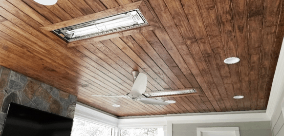 Screen Porch Ceiling Heaters